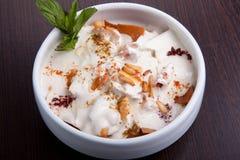 Yoghurt Stock Afbeelding