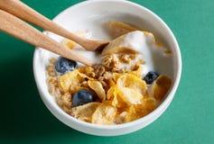 yoghurt Stock Foto's