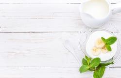 yoghurt royaltyfria foton