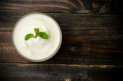 yoghurt arkivbilder