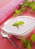 yoghurt arkivbild