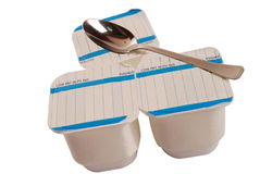 Yoghurt Royalty-vrije Stock Fotografie
