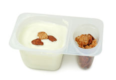 Yoghurt Royalty-vrije Stock Foto's