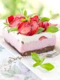 Yoghurt cheesecake Royalty Free Stock Photo