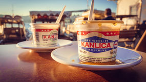 Yoghurt Stock Images