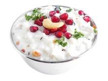 Yoghurtrijst Royalty-vrije Stock Foto