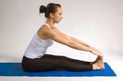 yogi девушки Стоковые Изображения RF