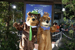 Yogi Bear & BooBoo  Royalty Free Stock Photo