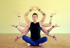 Yogi de Shiva Shakti Image libre de droits