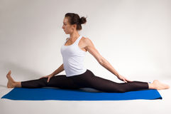Yogi girl Stock Images