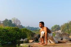 Yogi indien photo libre de droits