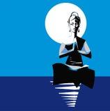 Yogi woman in Yoga Position Asana Royalty Free Stock Photos
