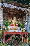 Yogialtare i Thailand Chiang Mai Royaltyfria Foton