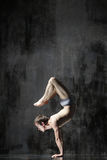 yogic övning royaltyfri foto
