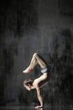 Yogic exercise Royalty Free Stock Photo