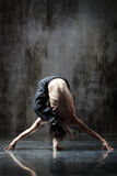 Yogic exercise Stock Photos