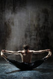 Yogic exercise Royalty Free Stock Photos