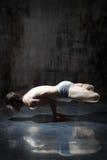 Yogic exercise Royalty Free Stock Images