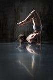 Yogic exercise Stock Photo