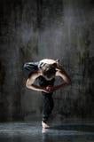 Yogic exercise Stock Image