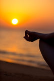 Yogic mudra Royalty Free Stock Photography