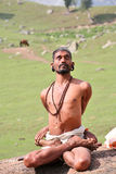 yogin de himalays Photo stock