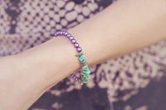 Yogini bracelet Royalty Free Stock Images