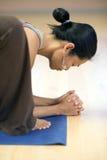 Yogini calmo Imagem de Stock Royalty Free