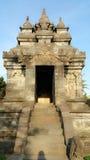 Yogjarkata的candi入口 免版税库存图片