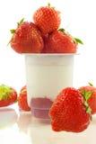 Yogur Foto de archivo