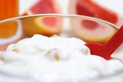 Yogur Imagenes de archivo