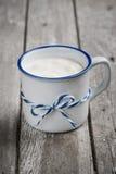 Yogur de Muesli con la harina de avena Fotos de archivo