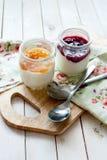 Yogur hecho en casa Foto de archivo