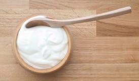 Yogur natural Foto de archivo