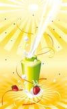 Yogur para la energía Stock de ilustración