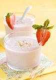 Yogurt Royalty Free Stock Photography