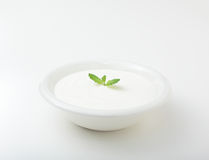 Yogurt Fotografia Stock