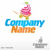 Yogurt. Logo (icon Stock Photos