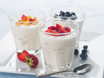 Free Yogurt Royalty Free Stock Photos - 43860318