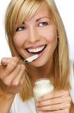 Yogurt stock photos