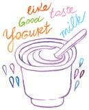 yogurt Imagem de Stock