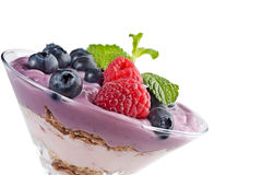 yogurt Imagem de Stock Royalty Free
