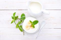 Yogurt . Royalty Free Stock Images