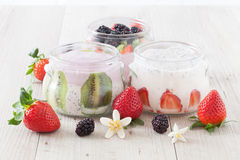 Yogurt With Berries Royalty Free Stock Photo