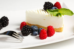 Yogurt cake Stock Image