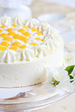 Yogurt cake with oranges Royalty Free Stock Photos
