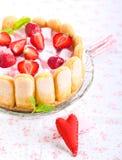 Yogurt cake Royalty Free Stock Image