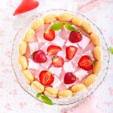 Yogurt cake Royalty Free Stock Images