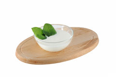 Yogurt casalingo Immagini Stock Libere da Diritti