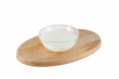 Yogurt casalingo Fotografia Stock